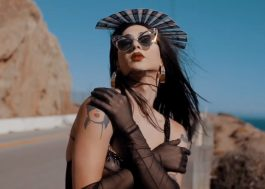Violet Chachki sensualiza na beira da estrada no novo clipe da Allie X