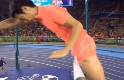 Momentos inusitados da olimpíada