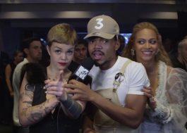 Beyoncé aparece de surpresa em entrevista do Chance The Rapper e ele vai à loucura!