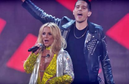Britney fala sobre a mão boba dela no G-Eazy