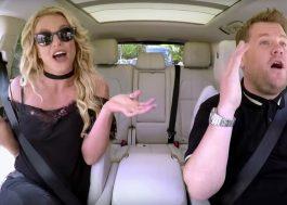 "Britney Spears dubla ""Toxic"" na prévia do seu ""Carpool Karaoke"""