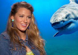 """Blake Lively fala com o Papelpop sobre enfrentar tubarão e cenas nojentas: """"Foi divertido!"""""""