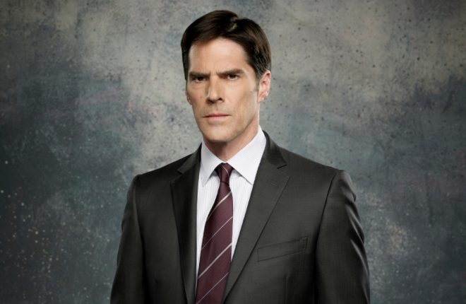 Thomas Gibson as Aaron Hotchner on the CBS drama CRIMINAL MINDS scheduled to air on the CBS Television Network. Photo: Cliff Lispon/CBS ©2011 CBS Broadcasting Inc. All Rights Reserved