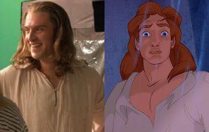 """Dan Stevens aparece pela primeira vez como Príncipe Adam, a Fera, em """"A Bela e a Fera"""""""