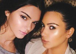 Eu vô ixpô ela! Kim Kardashian conta que Kendall Jenner está banida do Uber