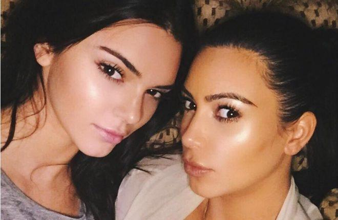 destacada Kim Kardashian e Kendall Jenner