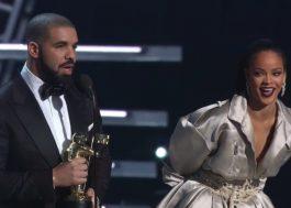 Drake e Rihanna chegam e saem juntos de festa pós-VMA