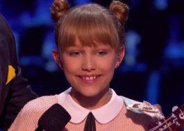"Grace VanderWaal faz apresentação incrível na semifinal do ""America's Got Talent"""