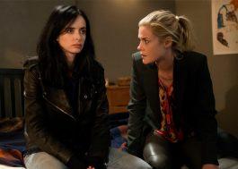 Jessica Jones e Trish Walker estão com problemas em fotos da segunda temporada