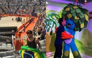 Vocês se jogando na Rio 2016 no #olhaissopapelpop!