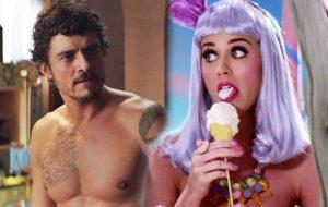 Katy Perry fala pela primeira vez sobre as fotos do Orlando Bloom pelado!