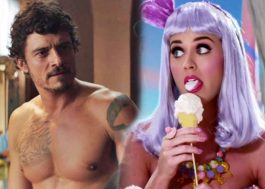 Tablóide publica fotos de Orlando Bloom pelado na praia com Katy Perry!