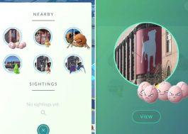 """""""Pokémon GO"""" ganha atualização no Brasil que facilita a localização dos monstros"""
