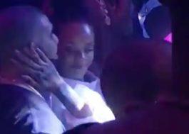 Rihanna e Drake são vistos agarradinhos e passeando de mãos dadas em Miami