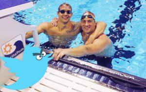 A Rio 2016 pode estar passando a mão na cabeça dos nadadores estrangeiros, mas o Twitter não…