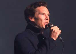 Benedict Cumberbatch canta Pink Floyd em show do David Gilmour