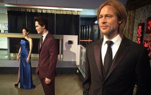 Depois do divórcio, estátuas de cera de Brad e Angelina são separadas em museu