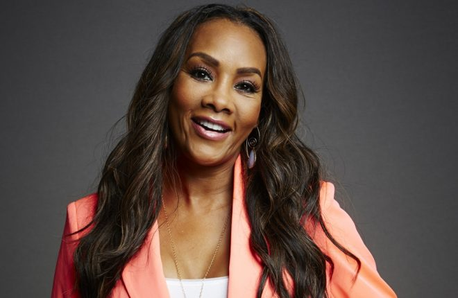 SAN DIEGO, CA - JULY 25:  Actress Vivica A. Fox poses for a portrait at the Getty Images Portrait Studio powered by Samsung Galaxy at Comic-Con International 2014 at Hard Rock Hotel San Diego on July 25, 2014 in San Diego, California.  (Photo by MJ Kim/Getty Images for Samsung)