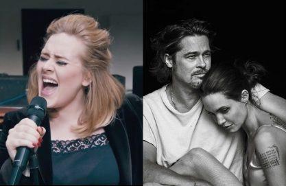 Adele comenta brincadeira com fim de Brangelina