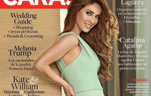 Toda linda, Anahí anuncia gravidez na capa de revista
