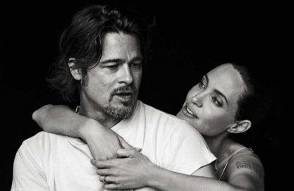 Jolie fala do divórcio pela 1ª vez