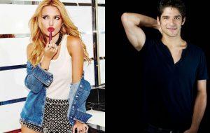 Novo casal na área? Bella Thorne e Tyler Posey são vistos aos beijos