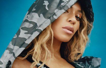 Beyoncé em campanha da Ivy Park