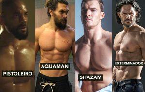 Obrigada, DC Comics e Warner por esses personagens gigantes dos seus filmes