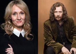 O Twitter está tretando com a J.K. Rowling (e também defendendo) sobre Sirius Black ser ou não gay…