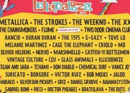 The Strokes, The XX, Tove Lo, MØ e muitos outros vêm para o Lollapalooza!