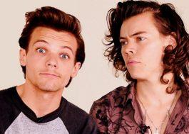 """Louis acha """"desrespeitoso"""" com a namorada que falem que ele pegava o Harry"""
