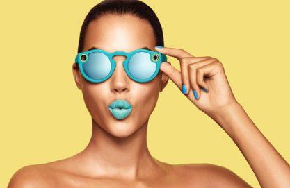 Snapchat lança óculos com câmera