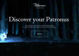 Agora você pode descobrir qual é o seu patrono no Pottermore