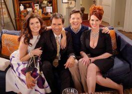 """É oficial: """"Will & Grace"""" vai voltar com elenco original e dez episódios!"""