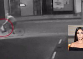 Vídeo mostra assaltantes de Kim Kardashian chegando e fugindo de hotel
