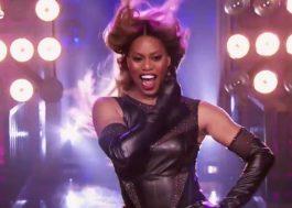 """Laverne Cox arrasa em apresentação de """"Lose My Breathe"""", das Destiny's Child, no """"Lip Sync Battle"""""""