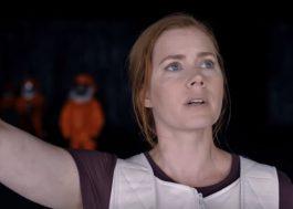 "Amy Adams entra na nave alienígena em trailer final de ""A Chegada"""