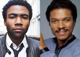 Donald Glover viverá o jovem Lando Calrissian no filme do Han Solo