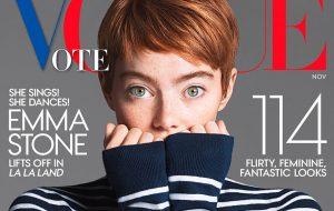 Nós estamos amando o novo corte da Emma Stone para a revista Vogue