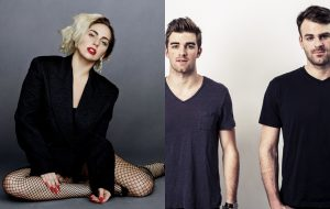 """Gaga rebate crítica do Chainsmokers: """"Talvez vocês gostem mais dessa [música]"""""""