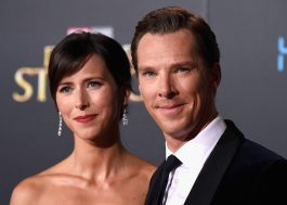 Benedict Cumberbatch e sua esposa Sophie Hunter estão esperando o segundo filho