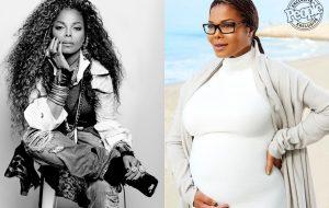 Aos 50 anos, Janet Jackson mostra barriga de grávida pela primeira vez!