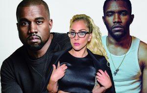 Kanye West vai boicotar o Grammy se Frank Ocean não for indicado (e coloca a Gaga no meio!)