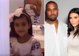 O Kanye West mostrou toda a infância da Kim Kardashian num vídeo fofo de aniversário