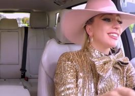"Lady Gaga canta, dança e leva James Corden pra passear no ""Carpool Karaoke"""