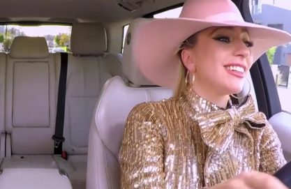 "Gaga no ""Carpool Karaoke"""