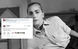 A Lady Gaga está toda acessível com os fãs (e os haters) no Twitter