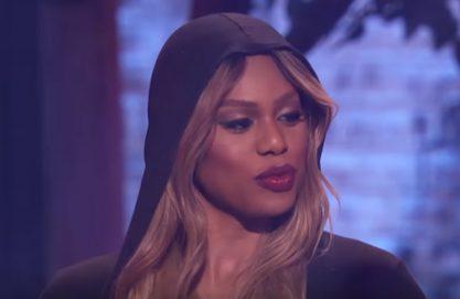 Laverna Cox faz a Nicki Minaj
