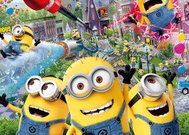 Os Minions vão ganhar um parque temático na Universal Studios do Japão!