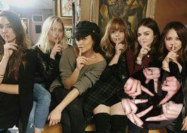 """Meninas de """"Pretty Little Liars"""" fazem tattoos para eternizar suas personagens na série"""
